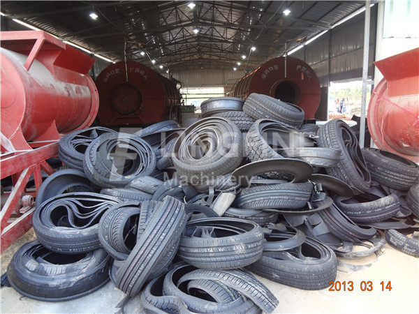 waste tyre recycling plant - beston pyrolysis plant
