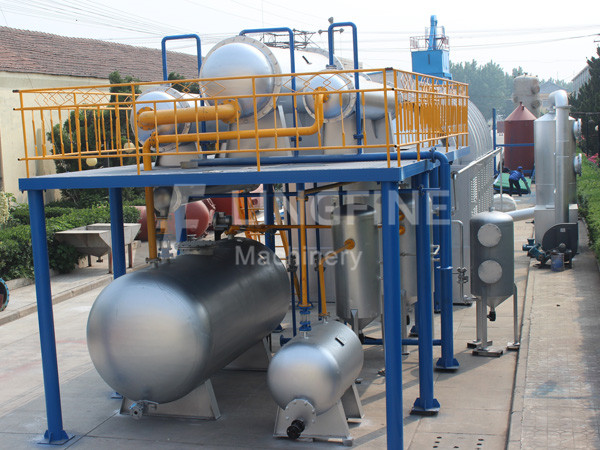 waste oil refining project - waste recycling equipment