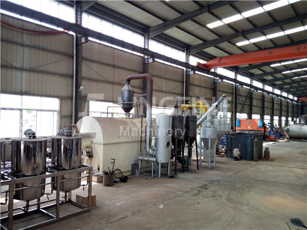 car tire recycling machine to oil