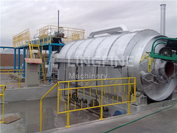 waste tyre pyrolysis plant | scrap tyre pyrolysis machine for