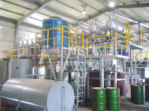Tire Recycling Oil Machine For Waste Disposal