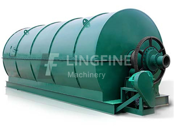 Waste plastic recycling pyrolysis plant project
