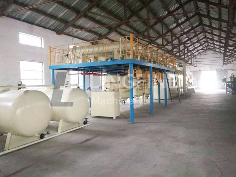 Anshan city in China waste plastic and waste tyre pyrolyis plant 50TPD 1 set